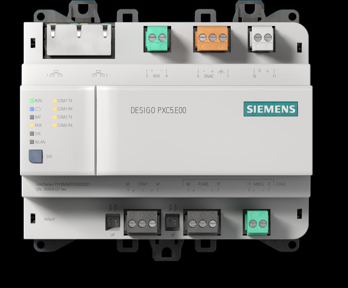Desigo PXC5 BACnet MS/TP automation station
