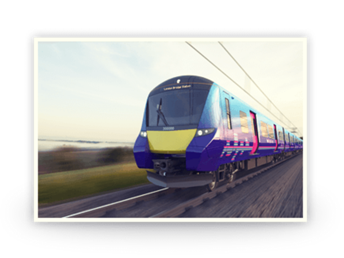 Siemens was selected as preferred bidder for Thameslink Rolling Stock.