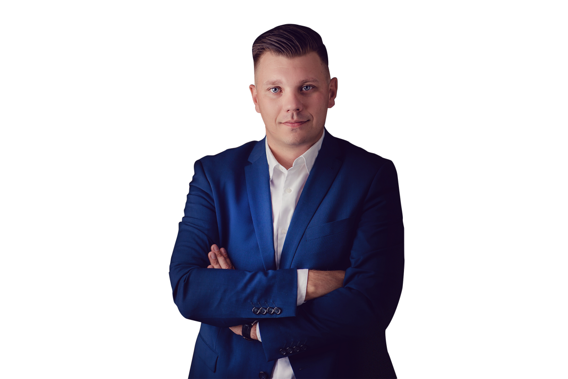 Na zdjęciu Sebastian Lemieszek - Siemens Polska