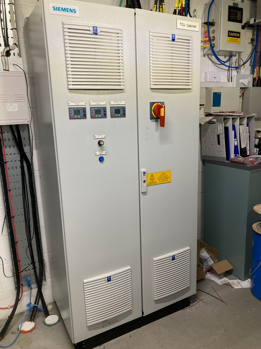 Temperature Control Unit Panel (Designed by and manufactured via Siemens