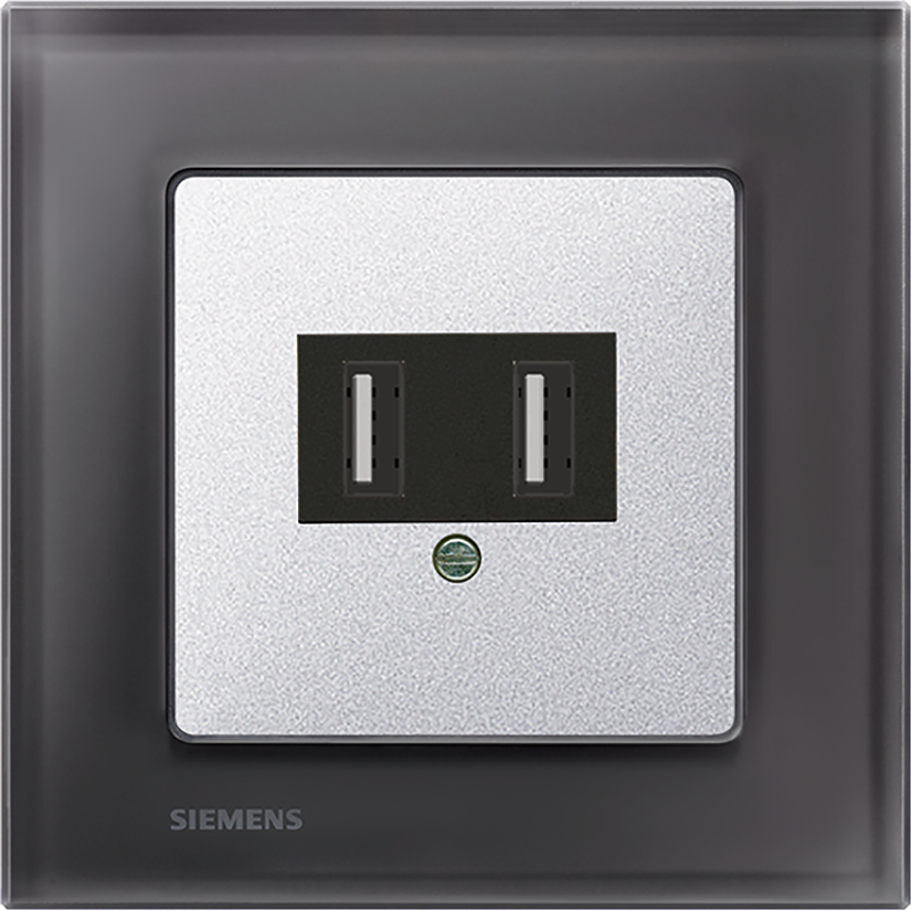 Черный / алюминиевый металлик – с  USB-разъемом