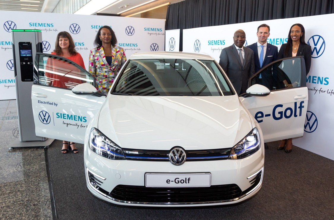 →	Rwanda becomes the first African country to introduce Volkswagen electric car