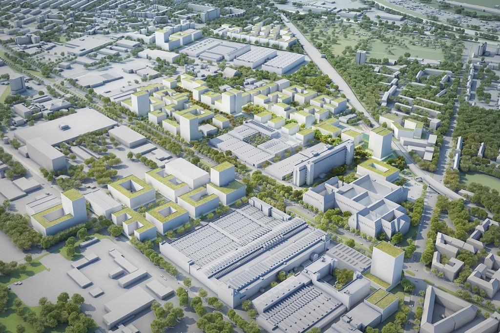 Siemens Stadt 2.0 | Hochbauwettbewerb
