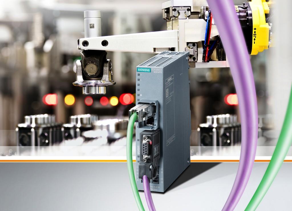 Industrie-Router f�r gesicherten Fernzugriff auf Anlagen und Maschinen mit Profibus