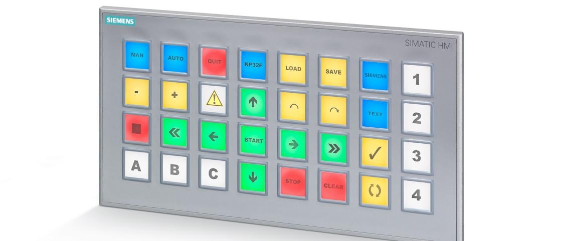 simatic hmi - panele przyciskowe