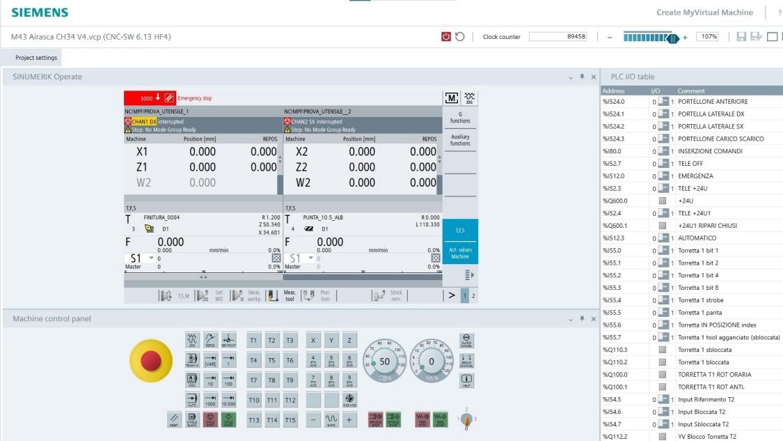 Virtual Machine at Tecnosystem