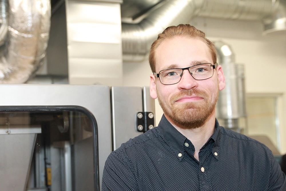 Niclas Malm, service- och designchef på Digital Metal.