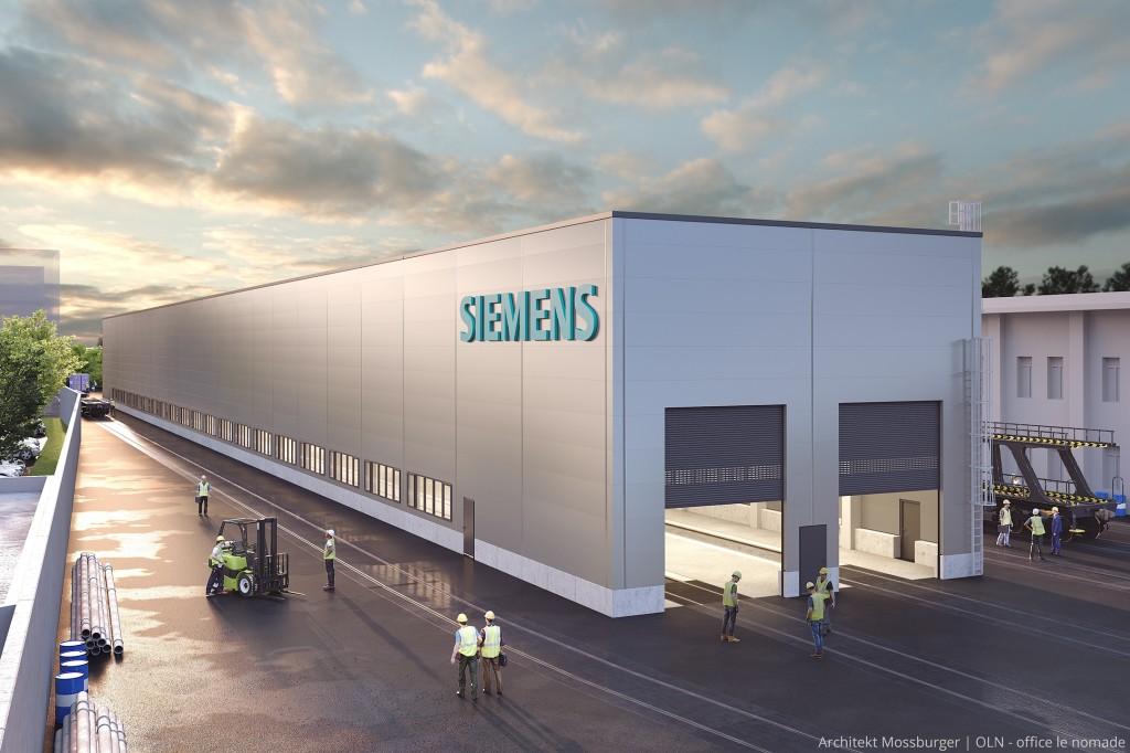 Siemens Mobility Austria investiert 12 Millionen in Standort Wien-Simmering