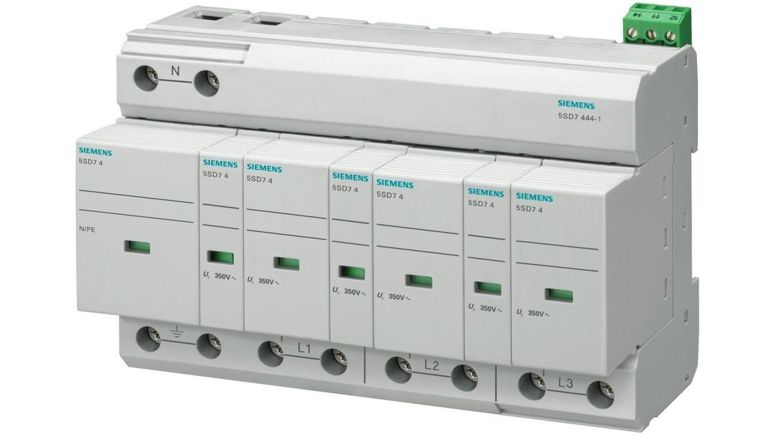 Комбіновані обмежувачі перенапруги 5SD7, тип 1 і тип 2