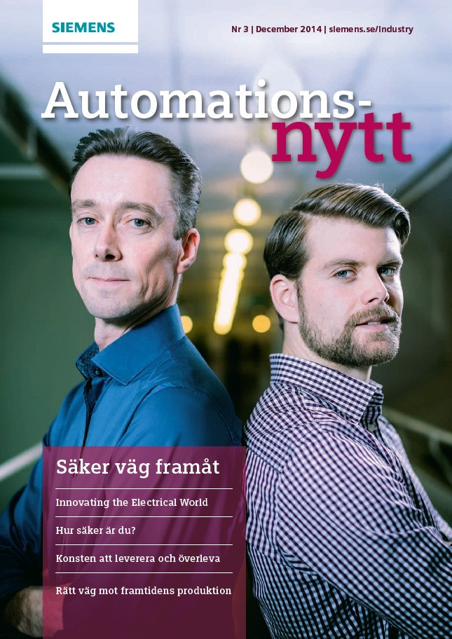 Automationsnytt Nr 3 | December 2014