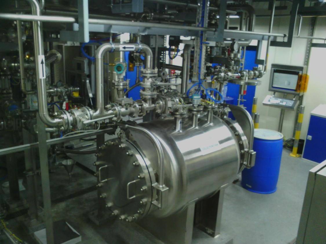 S2 Main Plant ground floor cw Siemens HMI and Instrumentation