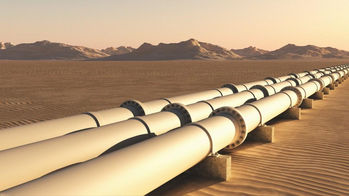 Water transport pipeline