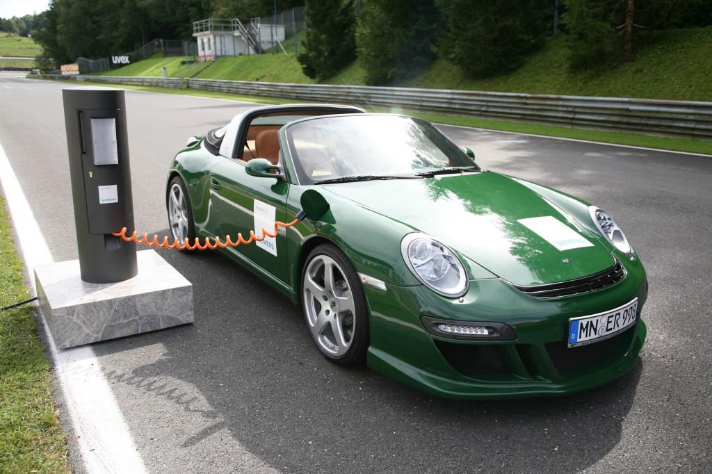 eRuf Sportwagen - So attraktiv ist Elektromobilitaet