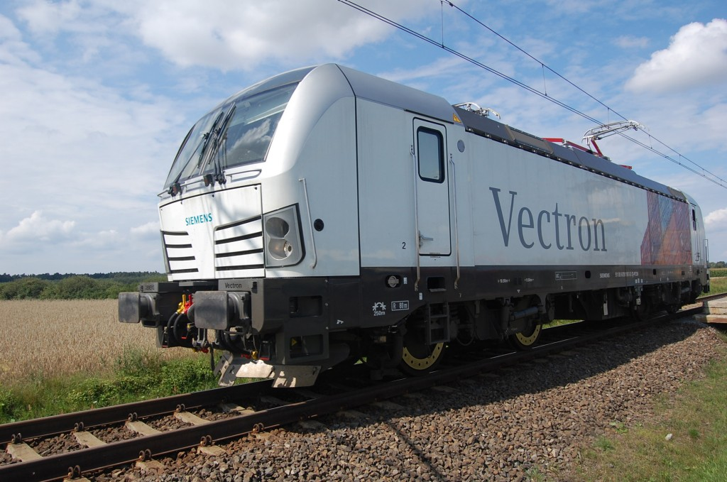 Markteintritt: Siemens verkauft erstmals zwei Vectron-Lokomotiven nach Italien