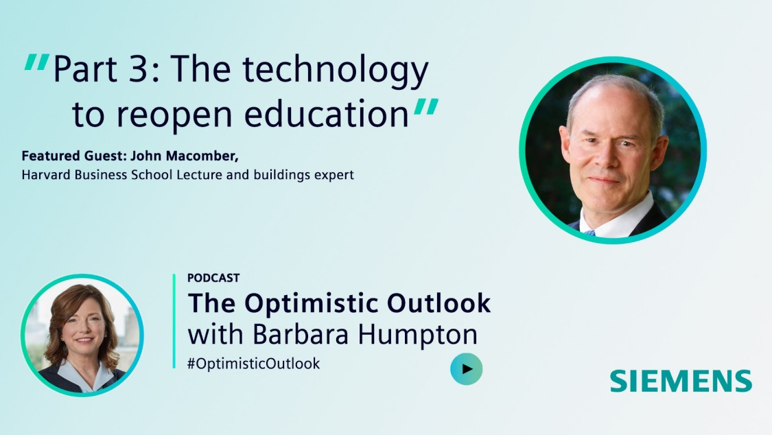 The Optimistic Outlook podcast: Part 3: The technology to reopen education