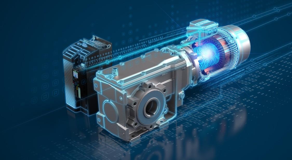 KeyVisual SIMOGEAR Reluktanzgetriebemotoren