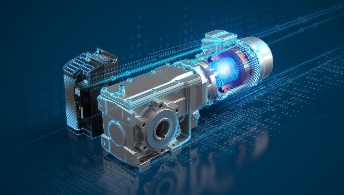 KeyVisual SIMOGEAR Reluktanzgetriebemotor
