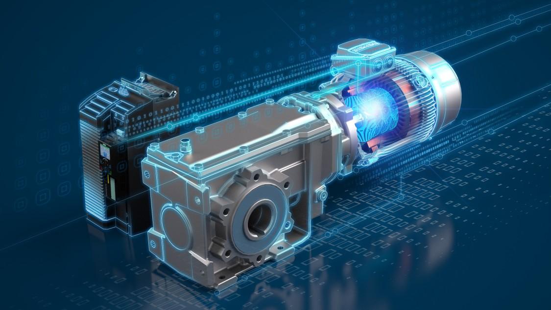 Key visual SIMOGEAR Reluctance Geared Motors