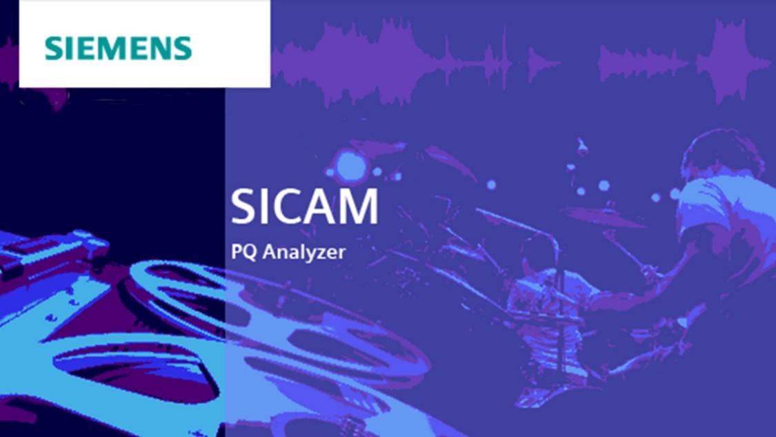Power quality analysis - SICAM PQ Analyzer