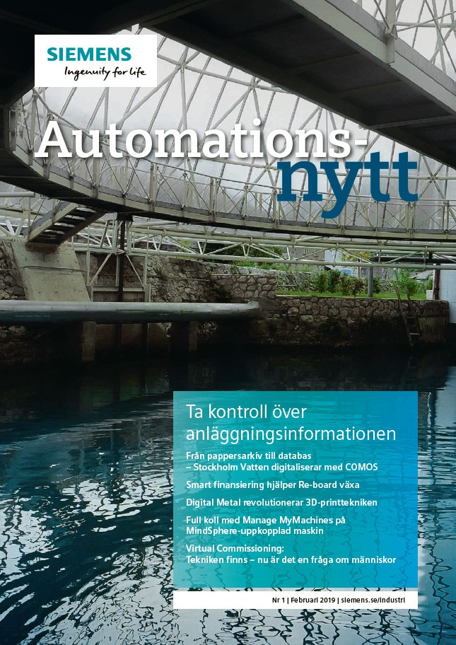 Automationsnytt Nr 1 | Februari 2019