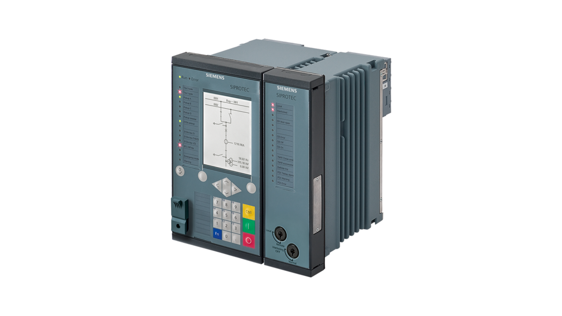 Overcurrent protection as backup protection for line protection – SIPROTEC 7SJ86