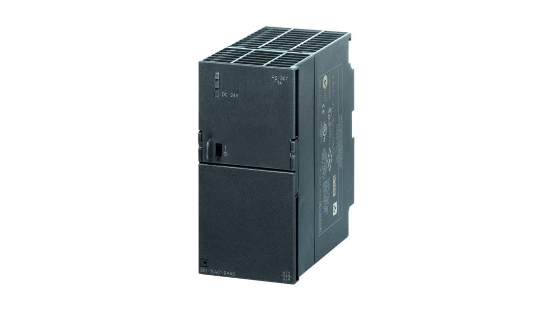 SIMATIC S7-300向けに設計された、PS 307、24 V/5 AのSITOPの製品画像