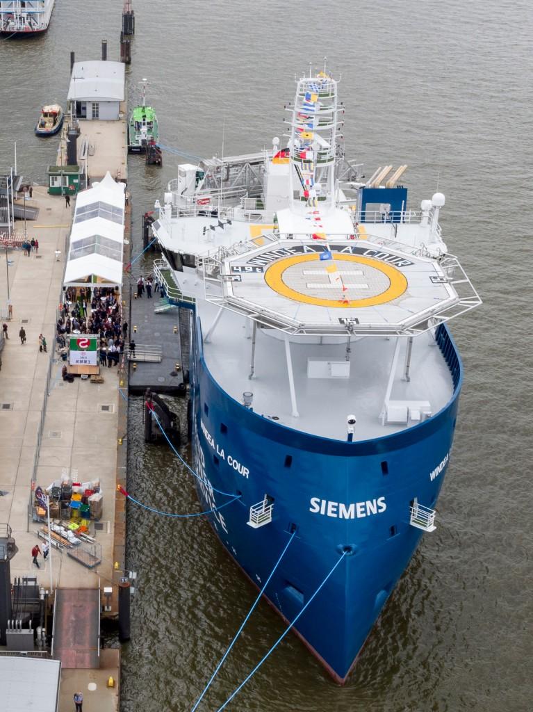 """SOV """"Windea la cour"""" mit Siemens-Antriebssystem ausgestattet"""