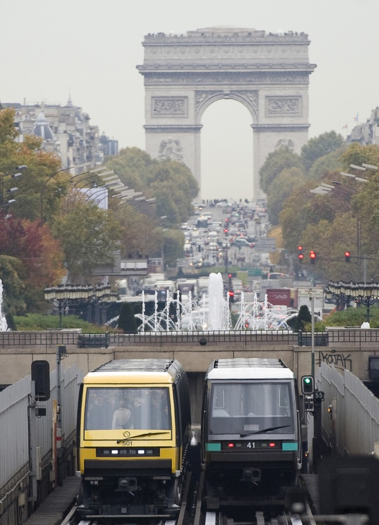 Siemens equipped Paris with driverless metro system - French capital's longest established Metro line now fully automatic