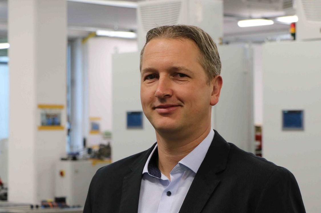 Jens Elsner, Leiter Elektroabteilung, Neuenhauser Maschinenbau GmbH