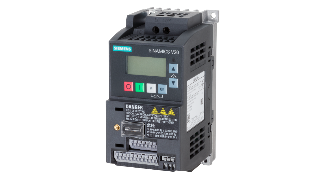 low voltage drives - SINAMICS V20