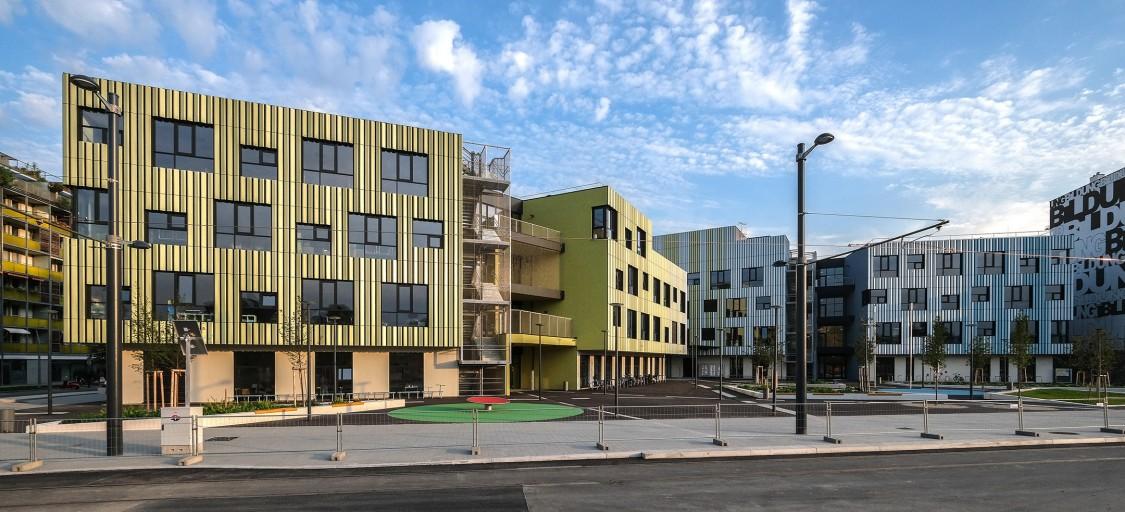 Vienna Austria educational campuses