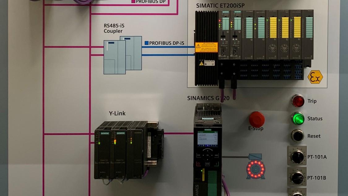 USA | SIMATIC SIS Compact demo wall