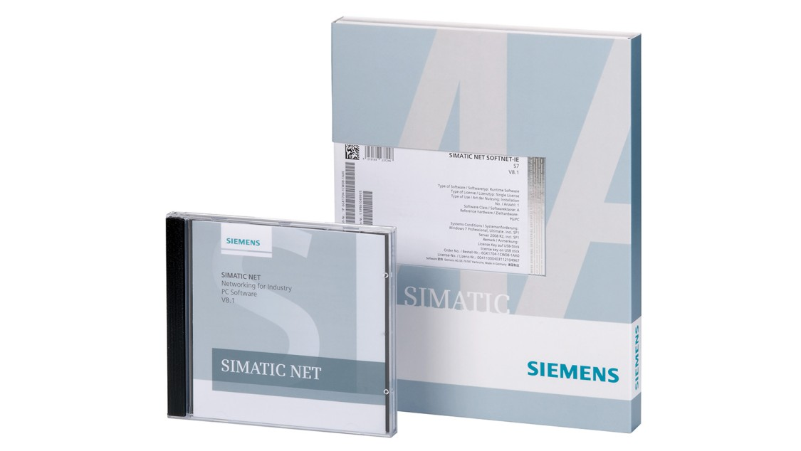 Product image of SIMATIC NET software for PROFINET/Industrial Ethernet