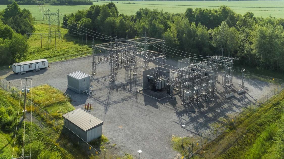Substation Hydro-Québec