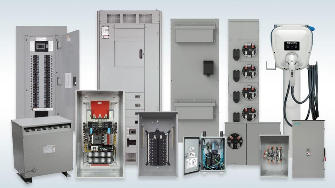 transportation electrification composite image