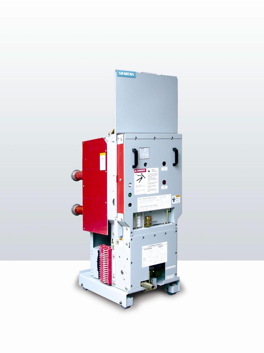 Medium-voltage roll-in replacement circuit breakers