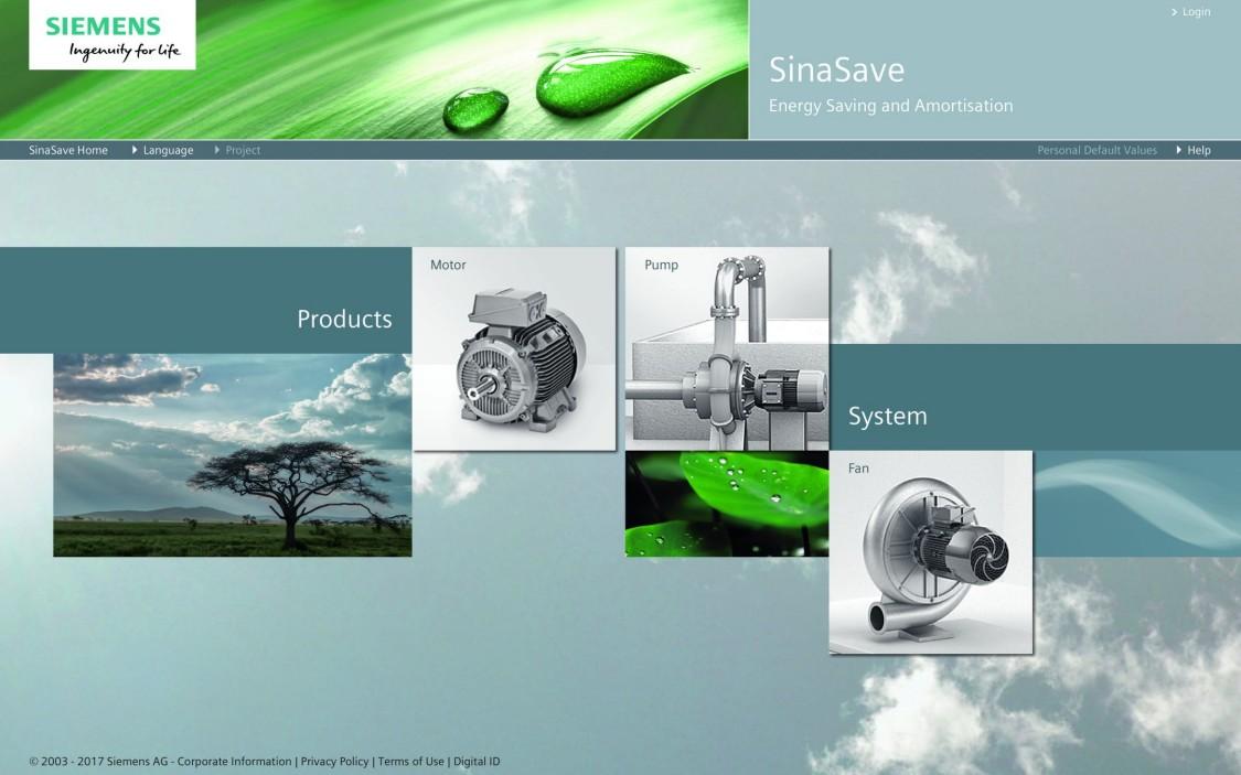 SinaSave a ferramenta de Eficiência Energética para inversores SINAMICS