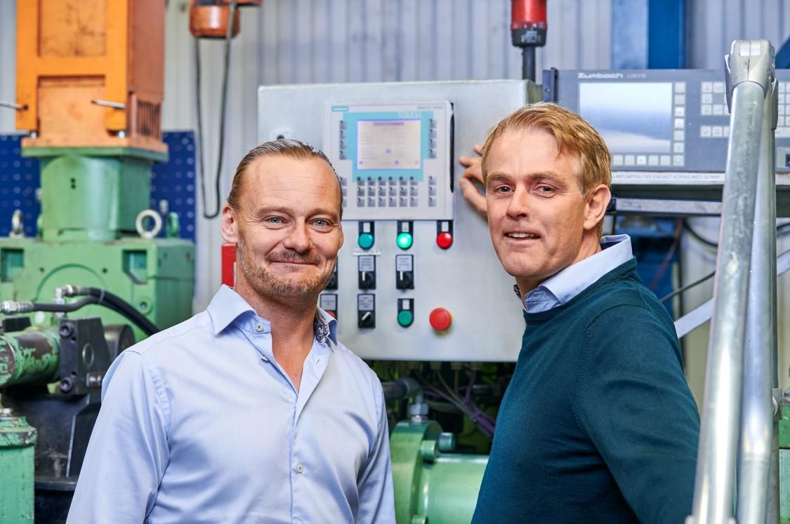 Claes Rössel och Daniel Cervin, National Halmstad