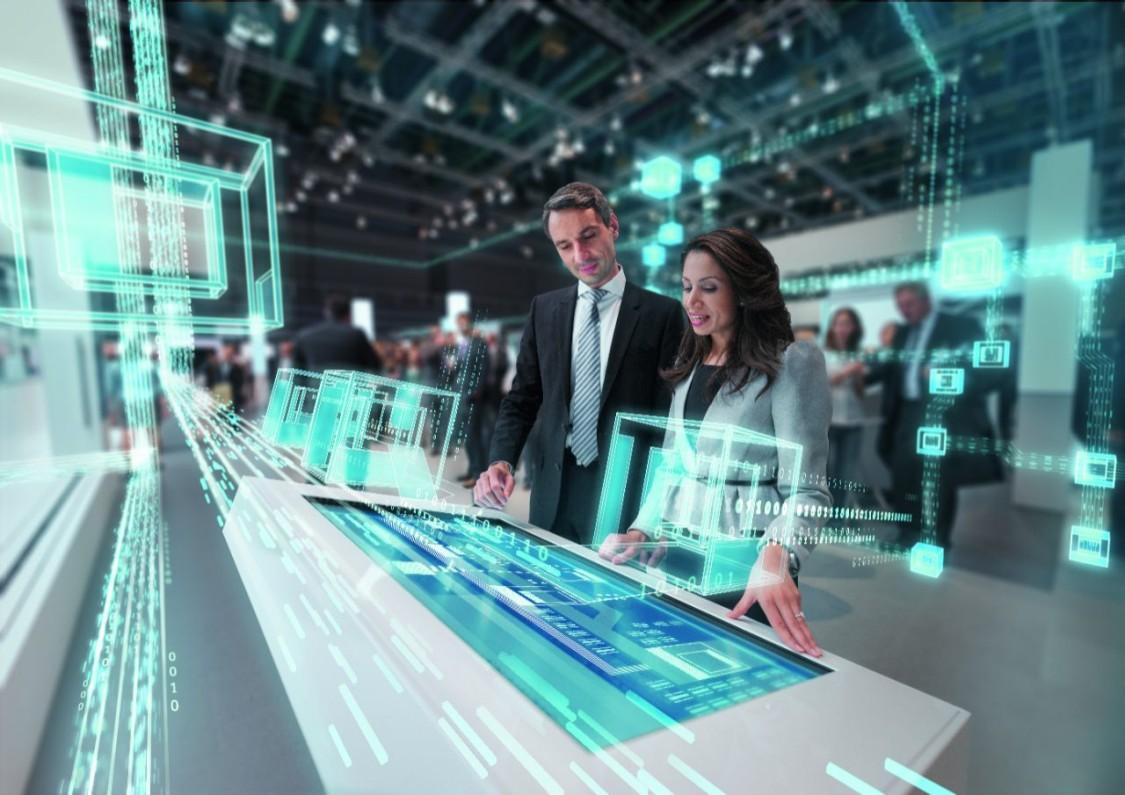 Fremtidens fabrikker vises frem i Hannover