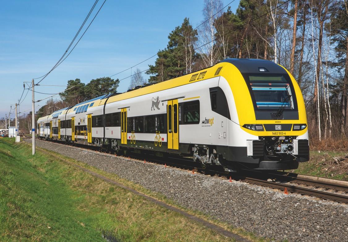 Nowe pociągi Desiro HC dla Doliny Renu