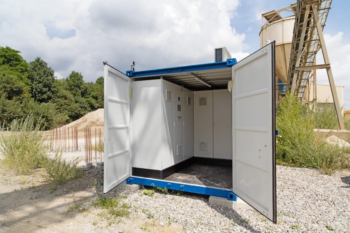 Bild eines Telecontrol-Systems einer Energiesparanlage