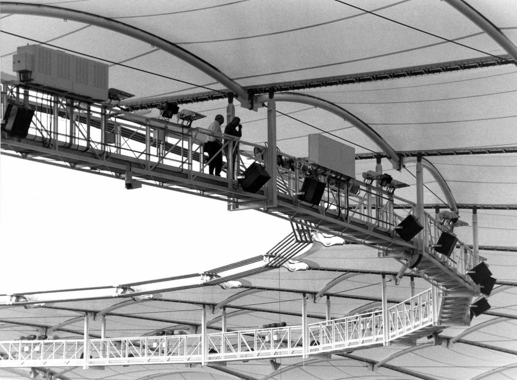 Tonanlage im Gottlieb-Daimler-Stadion