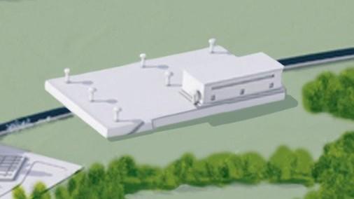 Estación de bombeo de aguas residuales