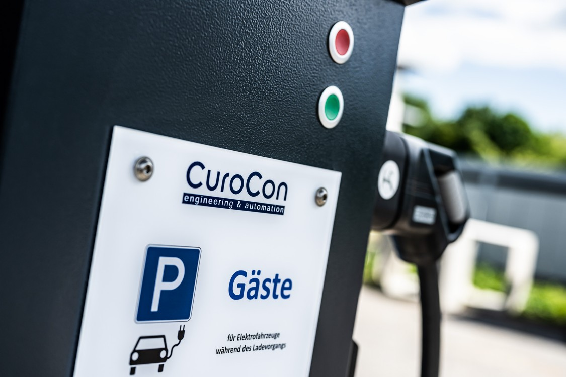 Picture CuroCon charging stations for guests
