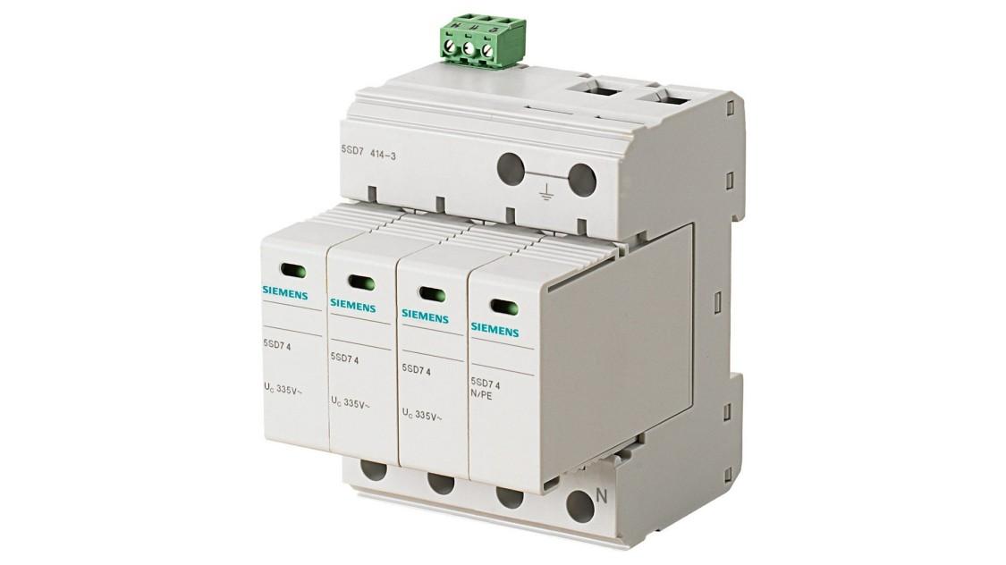 Комбінований обмежувач перенапруги 5SD7, тип 1 і тип 2