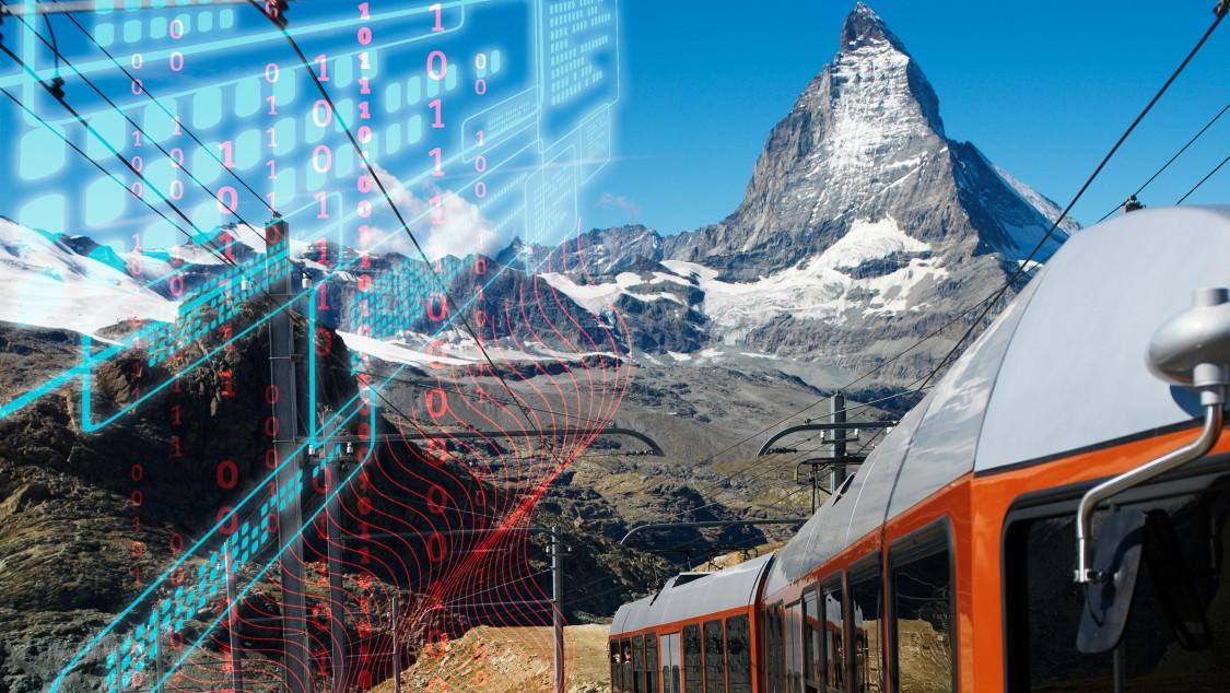 Siemens Mobility Rail Gornergrat Bahn Matterhorn