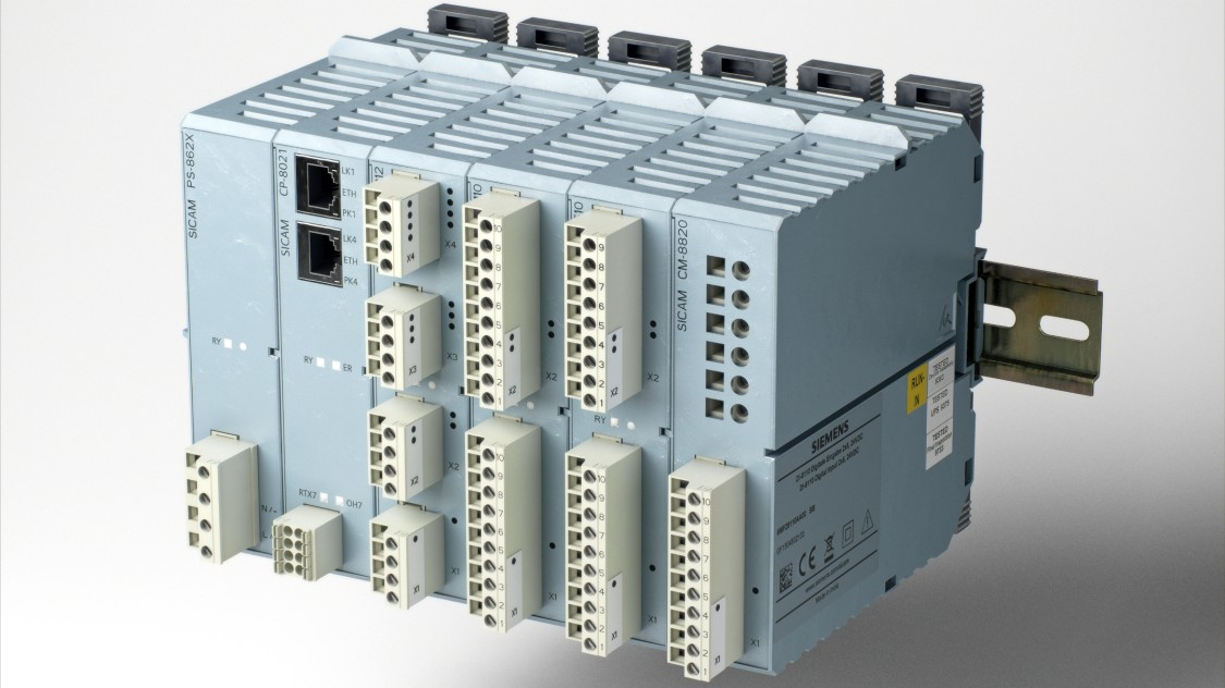 SICAM A8000 with modules