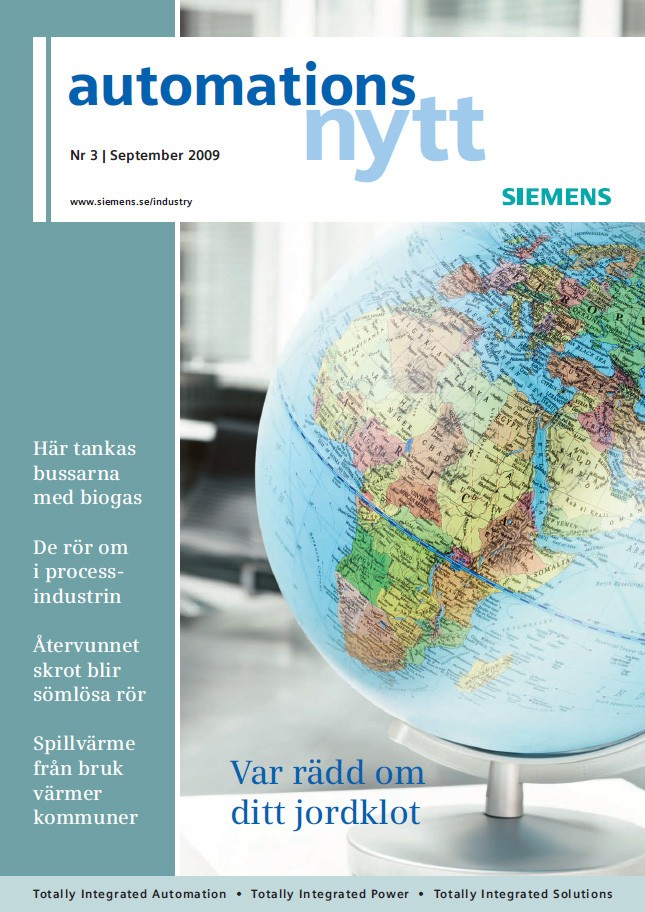 Automationsnytt Nr 3 | September 2009