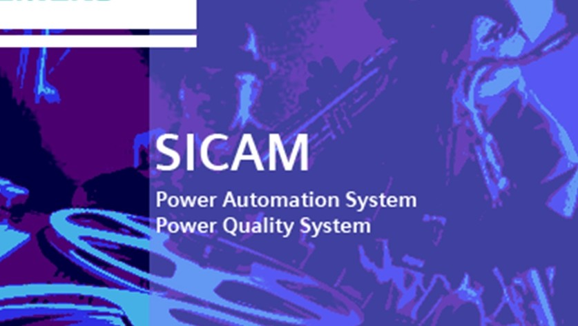 Archiving of fault record and power quality (PQ) data - SICAM PQS