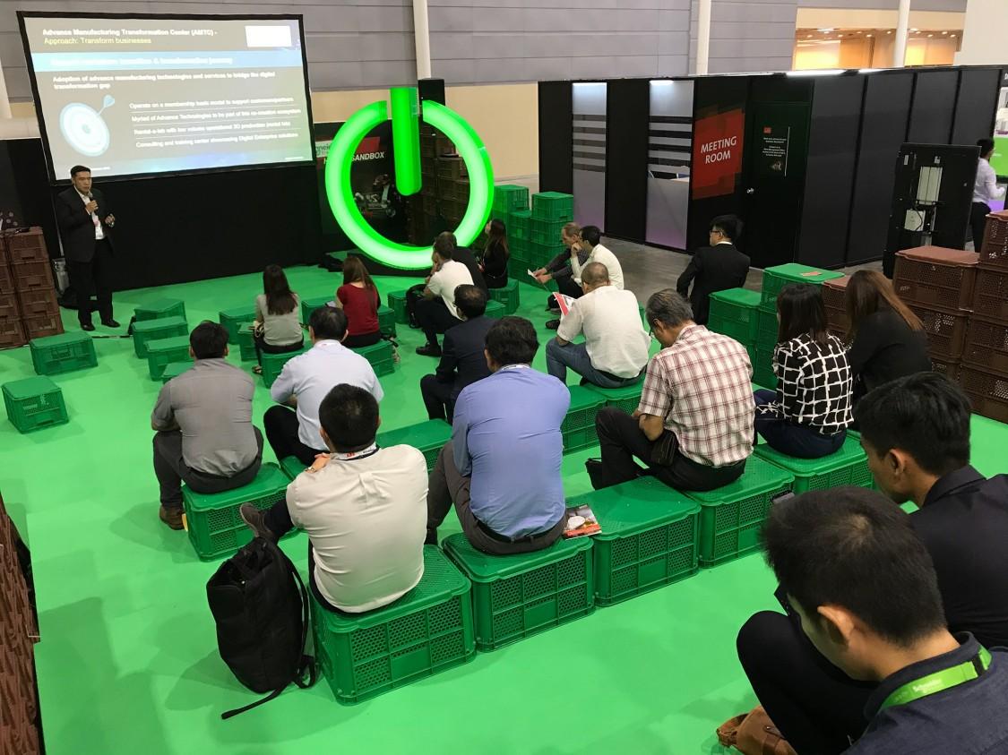 Siemens @ITAP 2019 - AMTC Sandbox Presentation